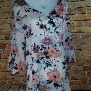 Seven four two oversized blouse dress